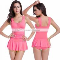 2016 Pretty Girls Sexy Woman Double Shoulder Swimming Costumes(VS013) Manufactures