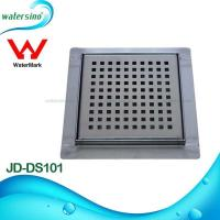 Brushed surface treament Stainless steel floor drain JD-DS101 Manufactures