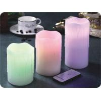 ITEM:12401 3pcs of Remote Control LED Candles Manufactures