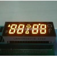"""Four-digit 0.38"""" common cathode super bright amber digital oven timer displays Manufactures"""