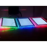 Hanging RGB and LED Bar Light Box With Customized Size for Window Display Manufactures