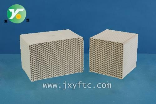 Quality Ceramic Honeycomb Name:Honeycomb Ceramic for RTO (Heat Media) for sale