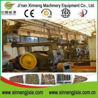 China Stamping biomass corn cob briquette press machine on sale