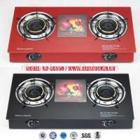 Glass Top table gas cooker/auto ignition gas stove (RD-GD050) Manufactures