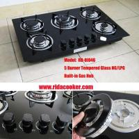 High Quality 5 Burner Built in Gas stove (RD-BI046) Manufactures