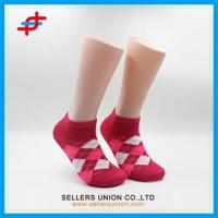 No Show Girls Red Low Cut Socks Manufactures