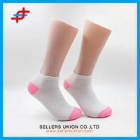 Girls White Cheap Low Cut Ankle Socks Manufactures