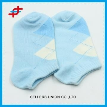 Quality Cheap Custom Design Cotton Women Boat Ankle Socks for sale