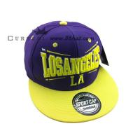 China New design custom flat peak caps retro snapback hats on sale