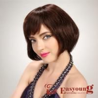 Natural hair style wigs for lady 6056 Manufactures