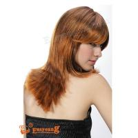 Ladies Long yellow synthetic hair style wig YS-9001 Manufactures
