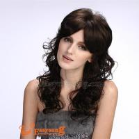 Synthetic natural curly hair wigs suppliers YS-9048 Manufactures