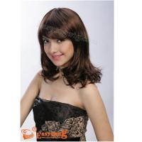 Wholesale long curly hair style brown wigs YS-9015 Manufactures