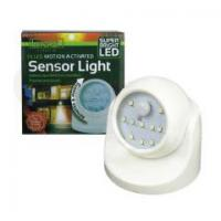 Activated Cordless Motion 360 Degree Sensor Infrared Rotable Led Night Light Manufactures