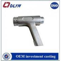 DIY Glass hinge 4 &glass fitting investment casting door handle foundry Manufactures