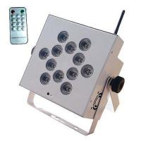 12*12W RGBWA 5in1 LED Wireless Battery Par With Remote Control Manufactures