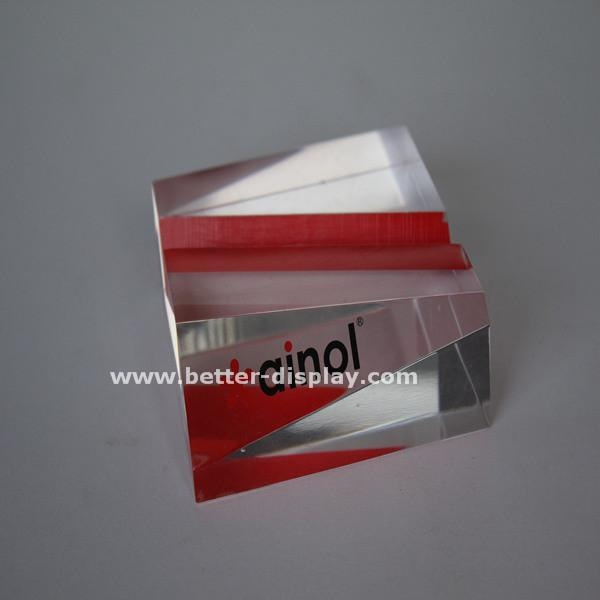 China Cosmetic Display Engraved Name Plates