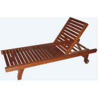 Buy cheap Wooden beach chair from wholesalers