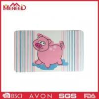 China Lovely cartoon pig print kitchen use melamine cutting board Model11514 on sale
