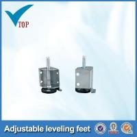 Zinc plated iron adjustable cabinet leveling feet Manufactures
