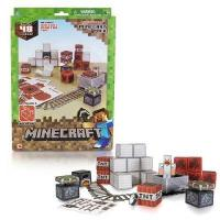 Minecraft Papercraft Minecart 48 Piece set Manufactures