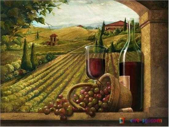 Quality Red Wine &still life 1 Flower Paintings for sale