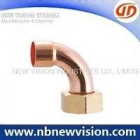 China Copper Pipe Fitting with Nut on sale