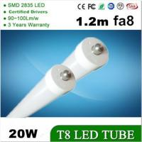 LED Tube light 1.2m 4FT 20W FA8 Single Pin T8 led tube (T8-4FT-20W-FA8) Manufactures