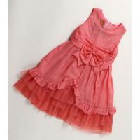 Girls Clothing Kids Girls Bowknots Princess Latest Design Party Dress Manufactures
