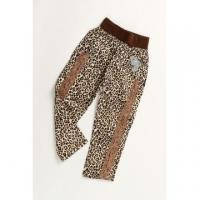 China Girls Long Pant with Leopard Design on sale
