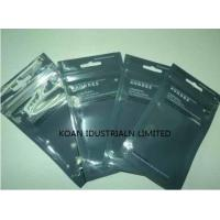 China ziplock bags Poly plastic packaging with hole /easy tearing pouch on sale