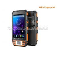 5inch rugged handheld pda tablet NFC barcode scanner fingerprint with buttons Manufactures