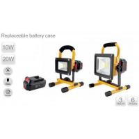 Buy cheap Rechargeable LED flood light 10W /20W with dimmer (batterycase replaceable) from wholesalers