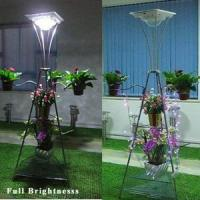Solar Lawn Lights With Stainless Steel LEH-40062 Solar Yard Lights Manufactures