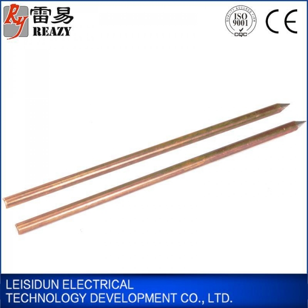 Quality Grounding series Copper Clad Steel Ground Rod/Earth Rod for sale
