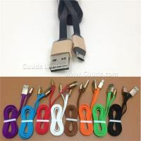Gold Always Right Reversible Connector Micro USB Sync Charger Cable Samsung htc - Black Manufactures