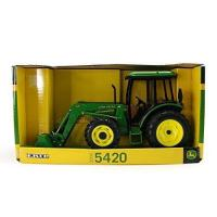 Buy cheap Ertl John Deere 5420 Tractor With Cab And Loader, 1:16 Scale from wholesalers