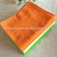 100% cotton small size cutting velvet solid color terry towel CT05 Manufactures