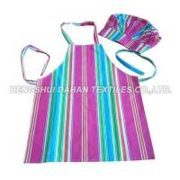 100%cotton Printing Apron and chefhat set for child AGP08 Manufactures