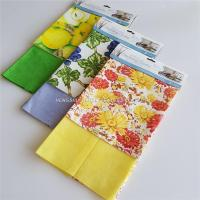 Buy cheap non-woven dish cloth printing spunlace nonwoven cleaning wipes from wholesalers