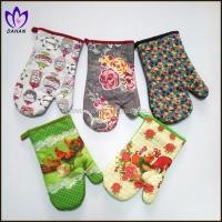 Buy cheap China supplier cotton fabric printed kitchen gloves and potholder sets from wholesalers