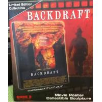 Code 3 Backdraft Movie Poster Collectible Sculpture (17003) Manufactures