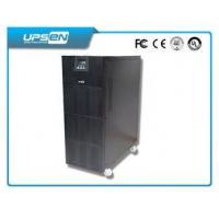 Emergency UPS 220V / 230V 6 KVA / 10 KVA High Frequency Online UPS with N + X Parallel Manufactures