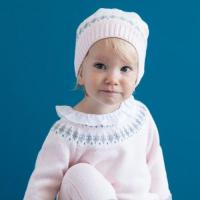 baby hat DB1191 davebella baby knitted hats for winter Manufactures