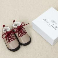baby shoes DB1463 davebella baby sheep skin shoes Manufactures