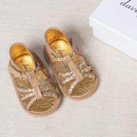 baby shoes DB2609 davebella baby sandal with magic tape Manufactures
