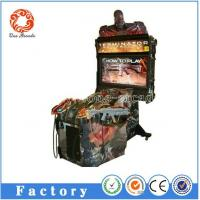 China arcade amusement simulator Terminator Salvation 4D shooting game machine on sale