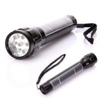 Buy cheap Portable Aluminum 7 LED Solar Flashlight For Camping from wholesalers