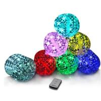 Buy cheap Colorful 10 LED Inflatable Solar Camping Light from wholesalers