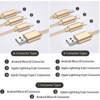3 In 1 Multiport USB Type C Connector Manufactures
